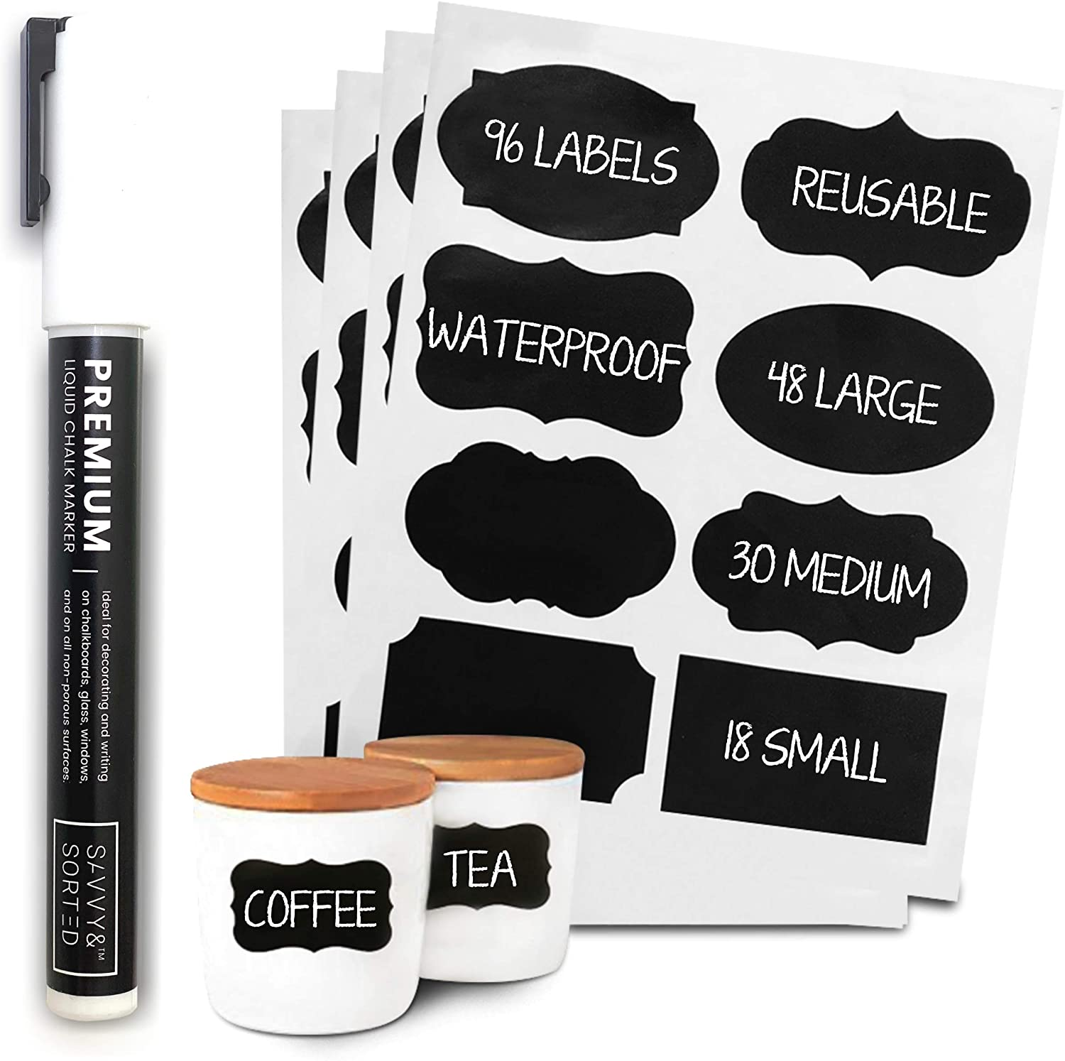 ChalkboardErasable Labels - Products