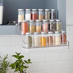 Linus Easy Reach Spice Organizer Frame - Products