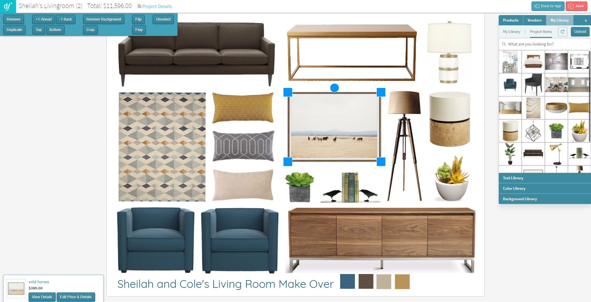 2D Concept Boards - Design