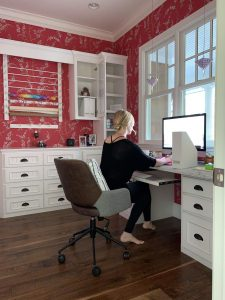 Sam home office before e1573254358692 225x300 - How Much Does it Cost to Work With a Professional Organizer & Why